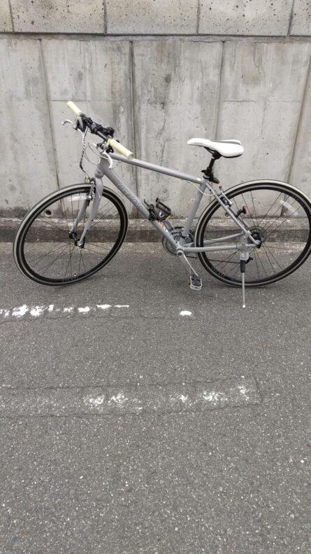 久々自転車でお出かけ